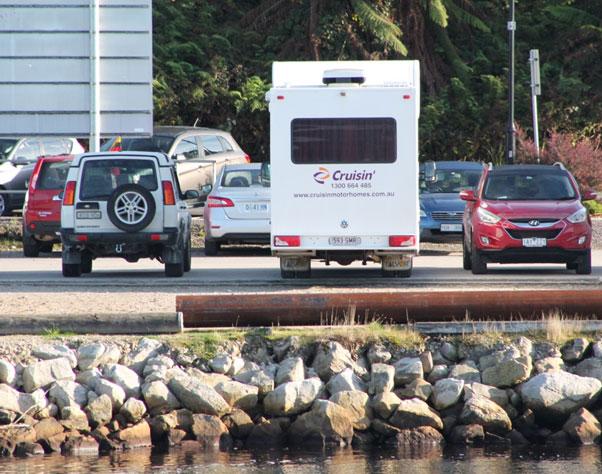 Cruisin Motorhomes near Gordon River Cruise, Strahan