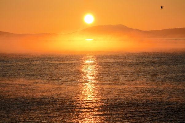 Sunset in Swansea, East Coast of Tasmania