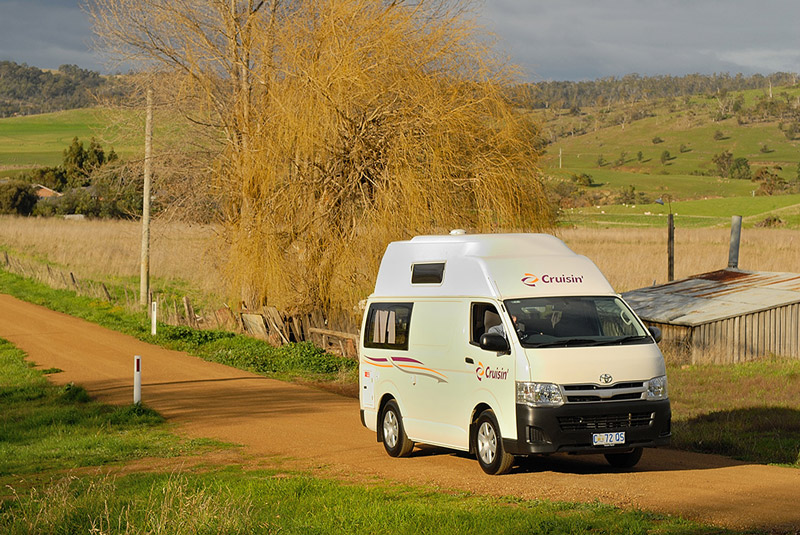 CAMPER RELOCATION FROM HOBART TO BRISBANE - Cruisin Motorhome Rentals Australia