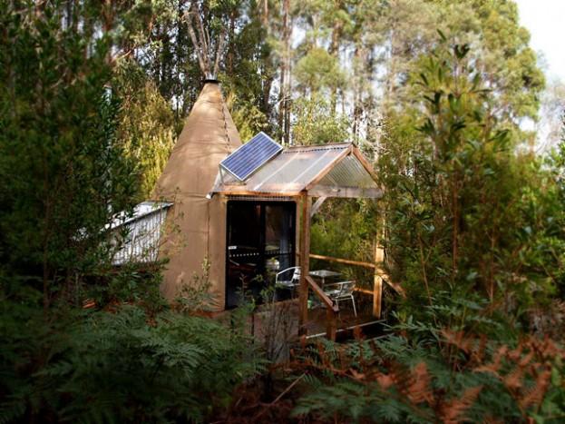 Huon Bush Retreat Luxury Tepees, Tasmania