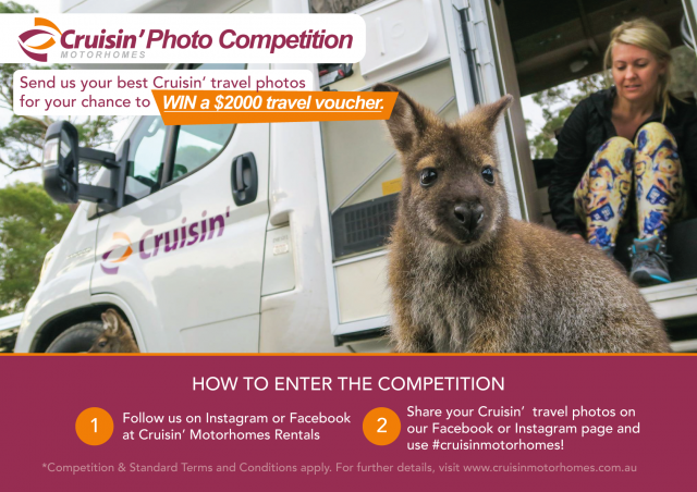 Cruisin' Photo Competition - Cruisin Motorhome Rentals Australia