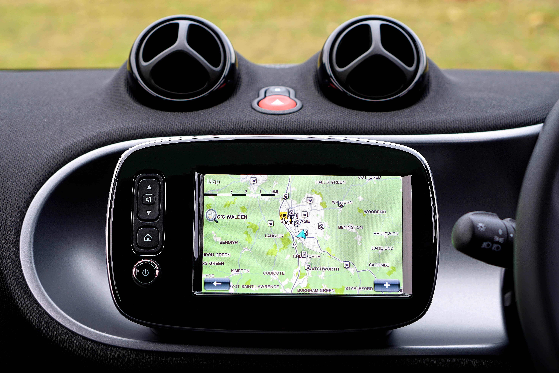 Navigation System On Campervan